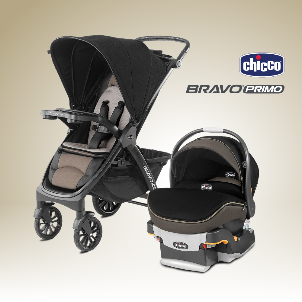 Chicco รถเข็นเซ็ต Bravo Primo Travel System-Alto - Kiddo ...