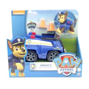 รถของเล่น PAW PATROL BASIC VEHICLES : CHASE'S