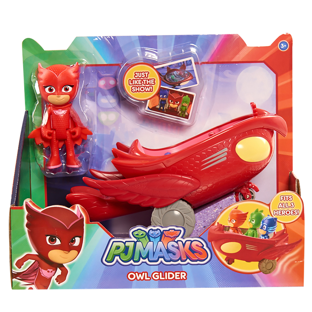 24575- PJ Masks Vehicle Assortment- In Package- Owlette (2)
