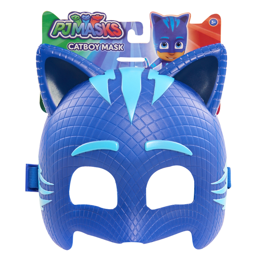 24590- PJ Masks Character Mask Assortment- In Package- Catboy