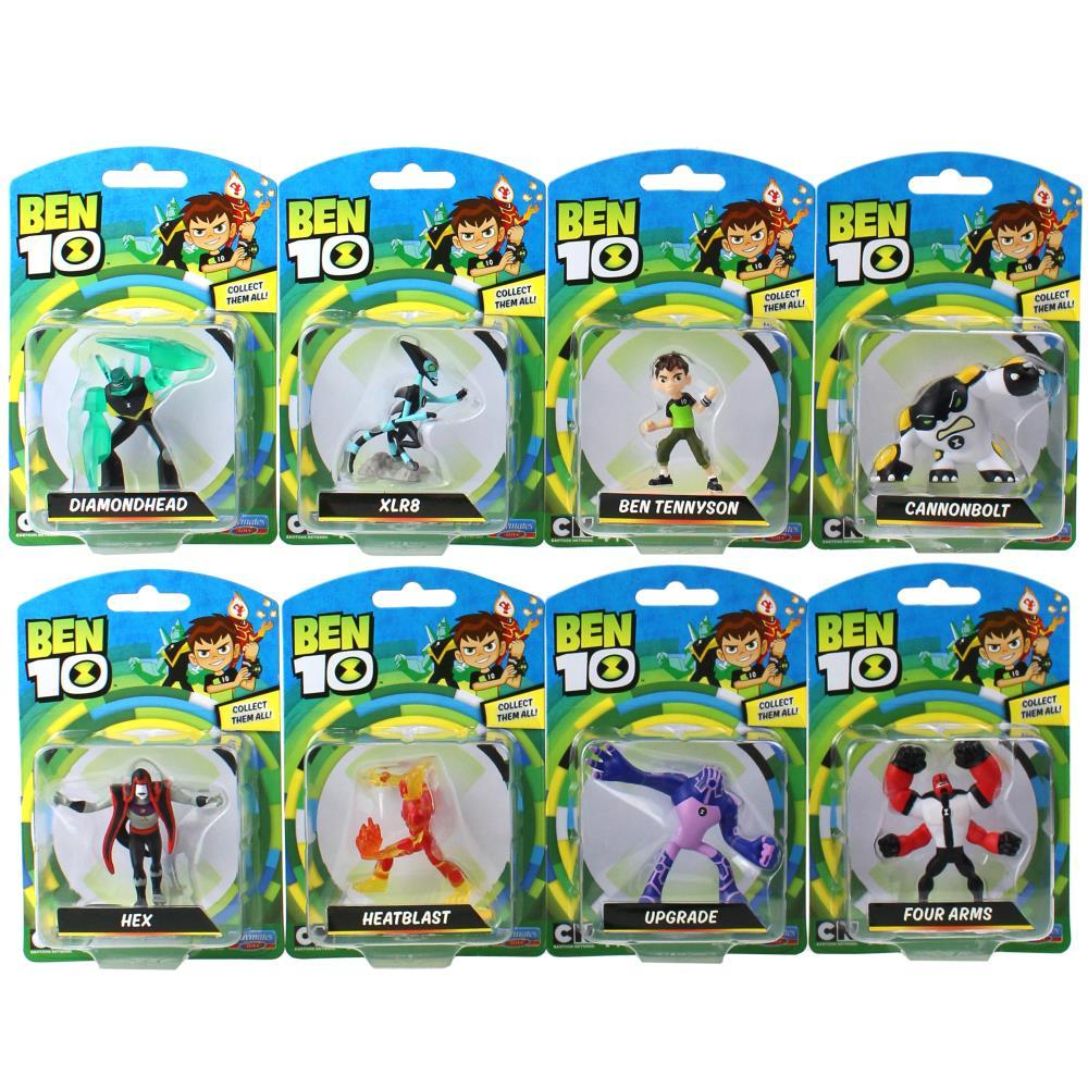 BT120767600000Ben 10 Mini Figures Assorted (1)