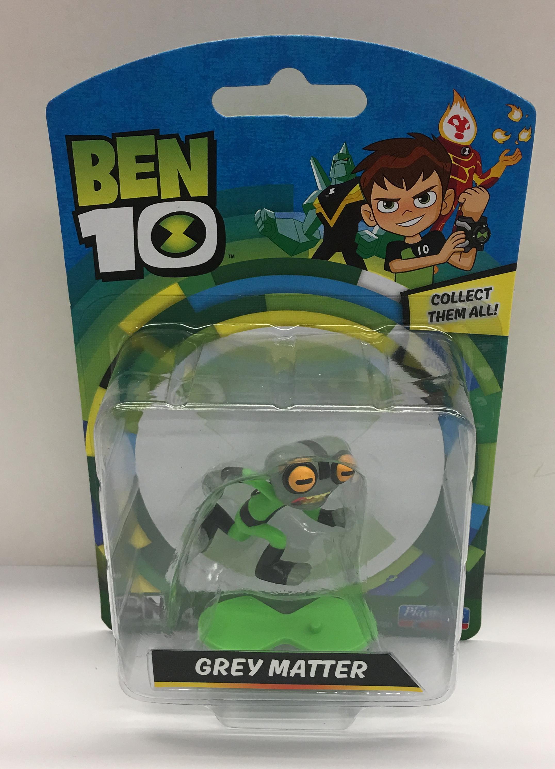 BT120767600000Ben 10 Mini Figures Assorted (16)