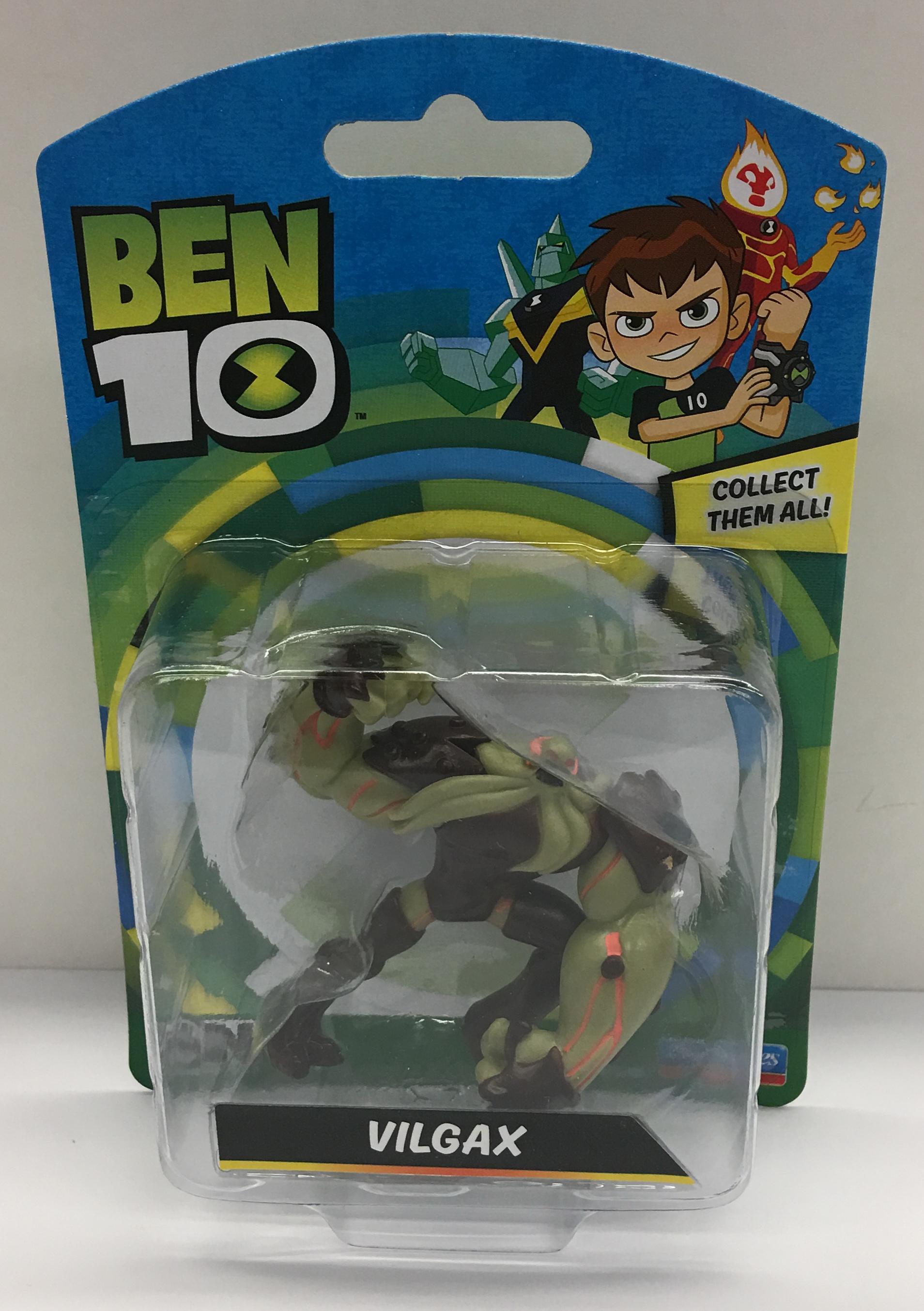 BT120767600000Ben 10 Mini Figures Assorted (17)