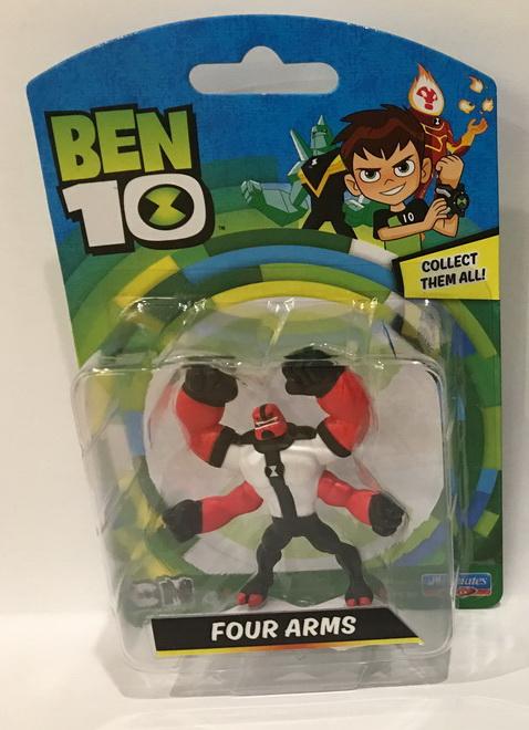 BT120767600000Ben 10 Mini Figures Assorted (6)