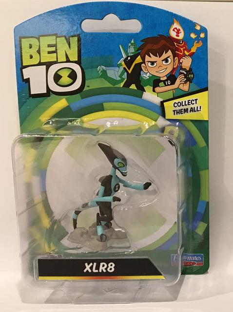 BT120767600000Ben 10 Mini Figures Assorted (8)