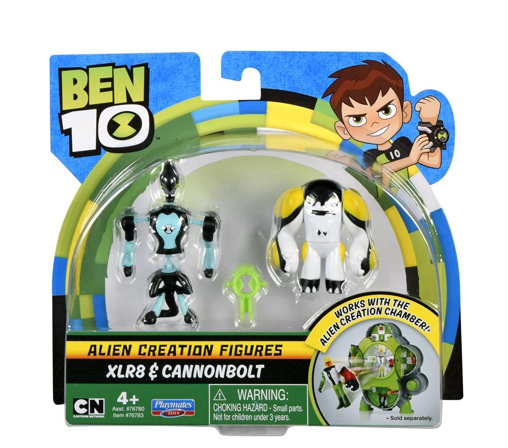 BT120767830000Ben 10 Alien Creation Xlr8 & Cannonbolt (1) (Custom)