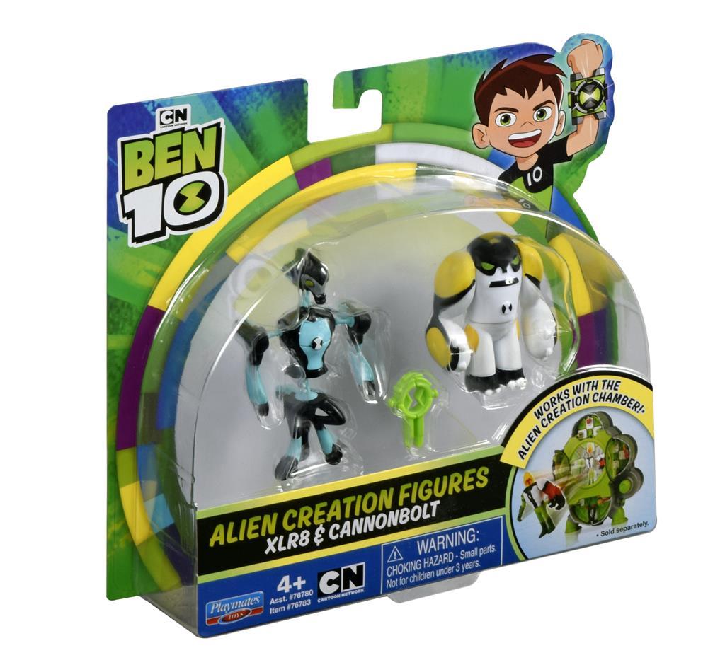 BT120767830000Ben 10 Alien Creation Xlr8 & Cannonbolt (3) (Custom)