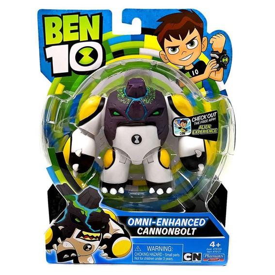 Ben 10 Cn 5 Basic Figure Omni Enhanced - Cannonbolt