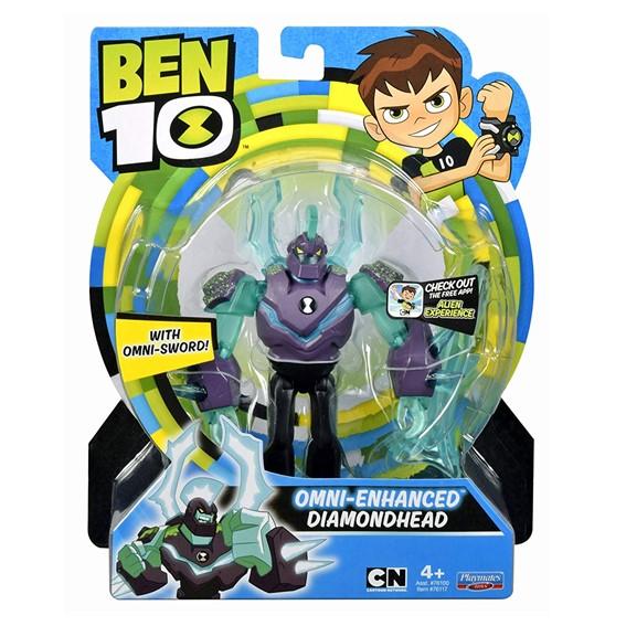 Ben 10 Cn 5 Basic Figure Omni Enhanced - Diamondhead