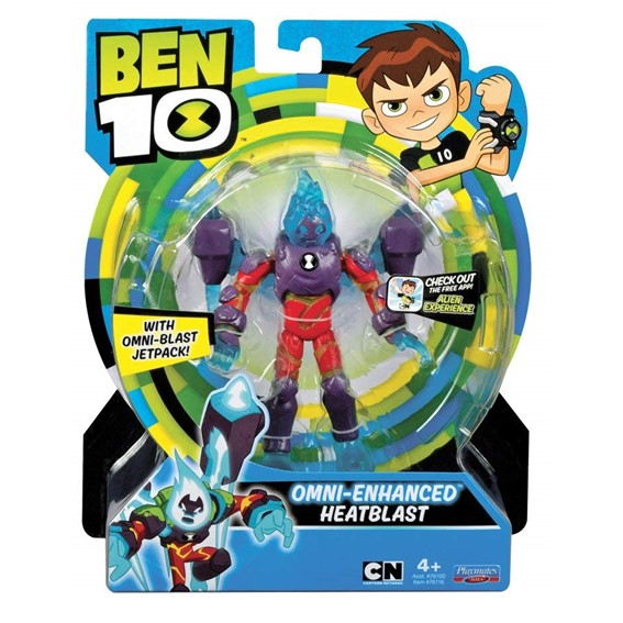 Ben 10 Cn 5 Basic Figure Omni Enhanced - Heatblast
