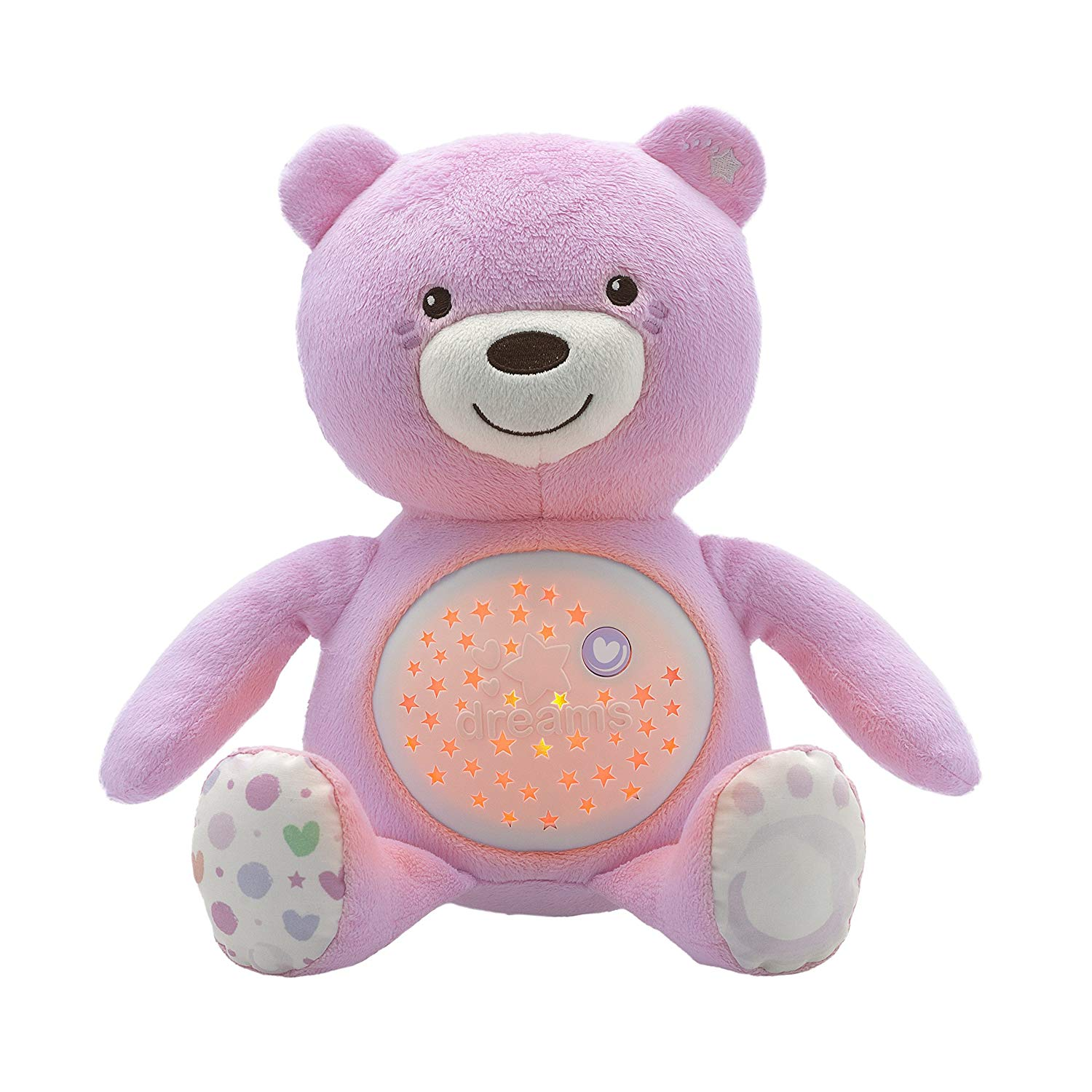 CH110080151000 CHICCO SOFT TOYS BABY BEAR-PINK (3)