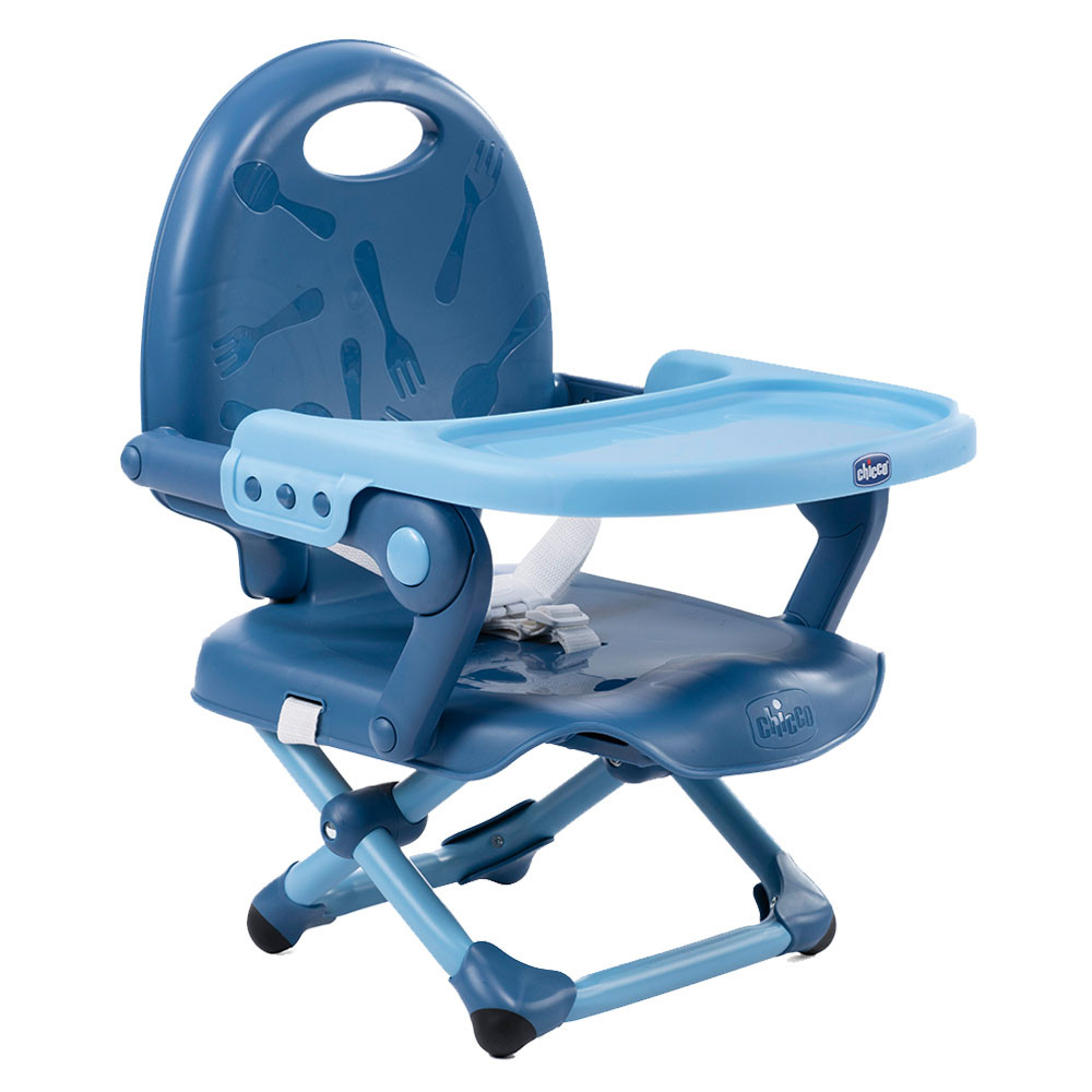 CH410793400900 Chicco Pocket Snack Booster Seat-Blue