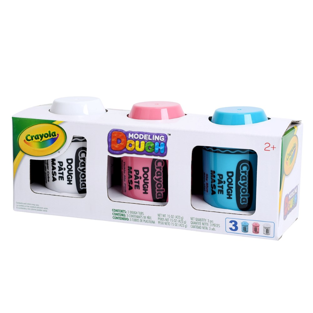CY120100700000Crayola Dough Multi Pack 5Oz X 3Pcs (1)