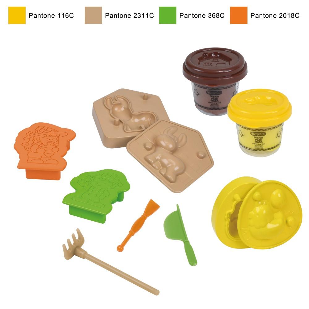 CY120196500000Crayola Dough Playset-Farm Theme(Small)