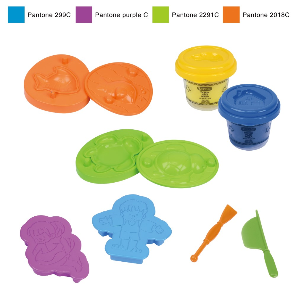 CY120196900000Crayola Dough Playset-Ocean Theme(Small)