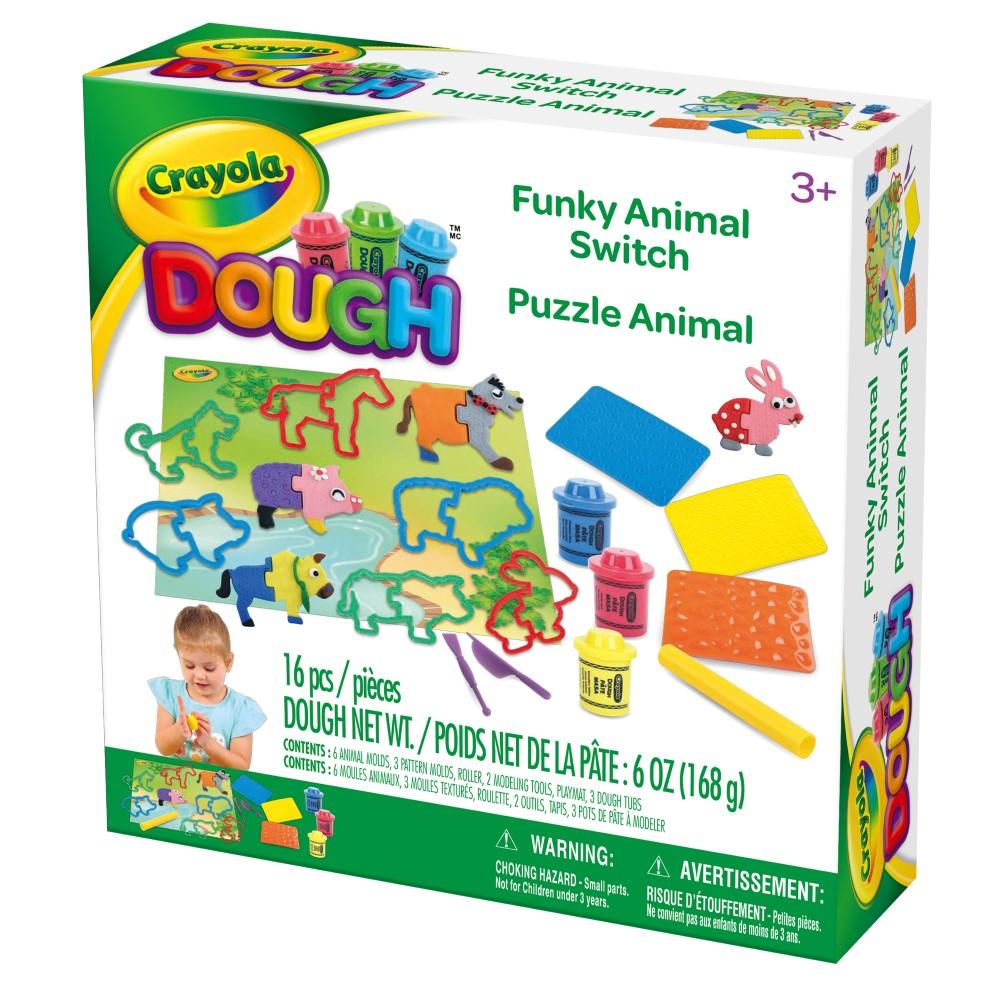 CY120200000000Crayola Dough Funky Animal Switch (1)