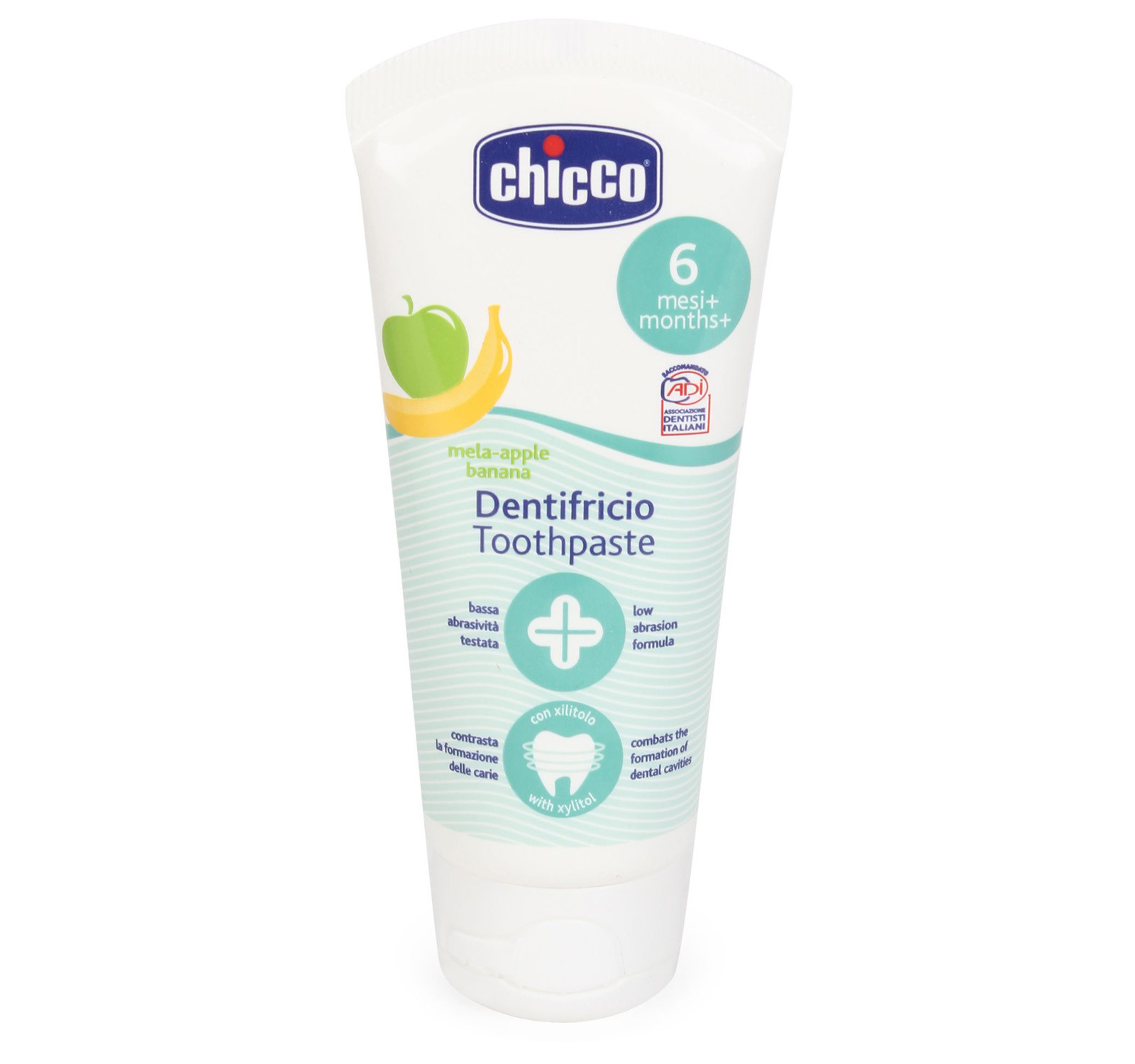 Chicco ยาสีฟัน Oral Care Apple & Banana Toothpaste 3