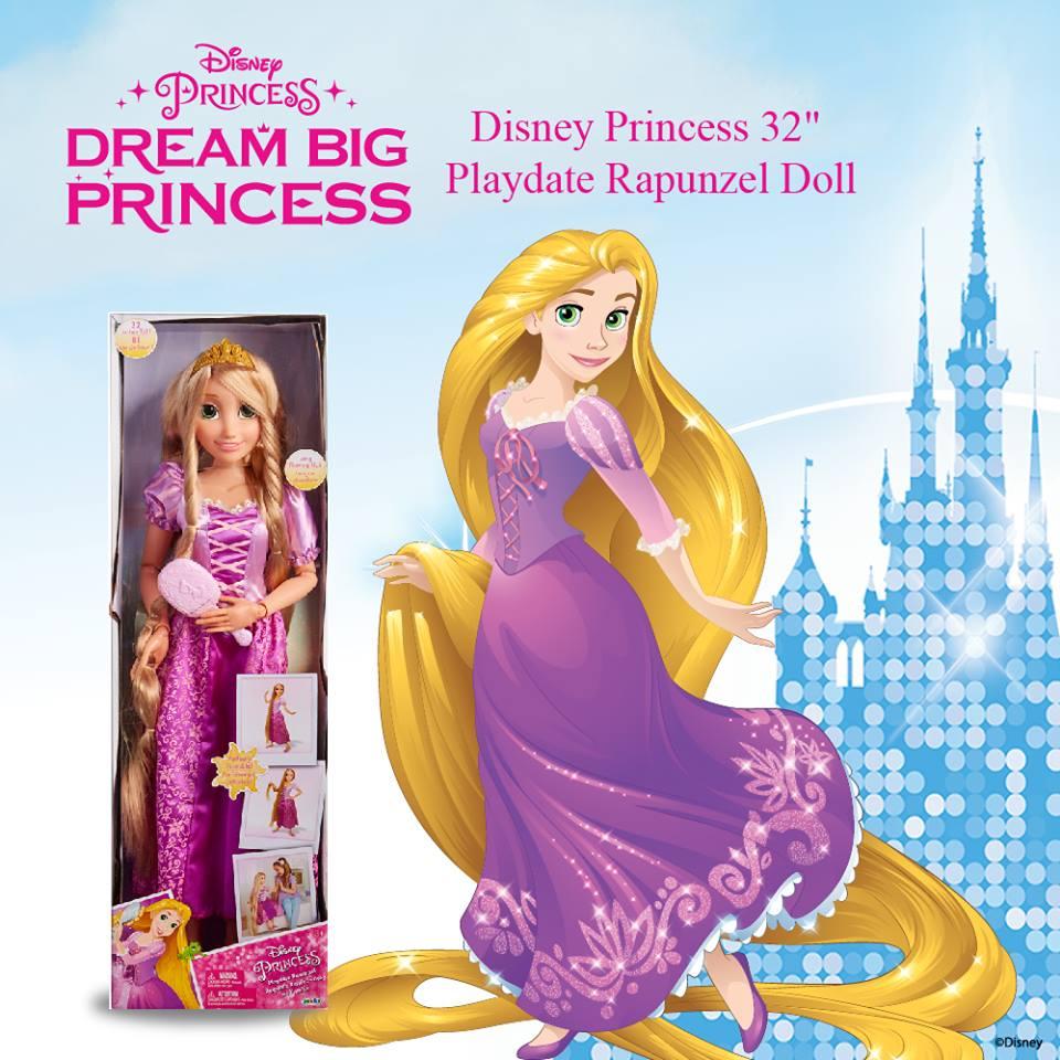 DJ120617730000 Disney Princess32 Playdate Rapunzel Doll (1)