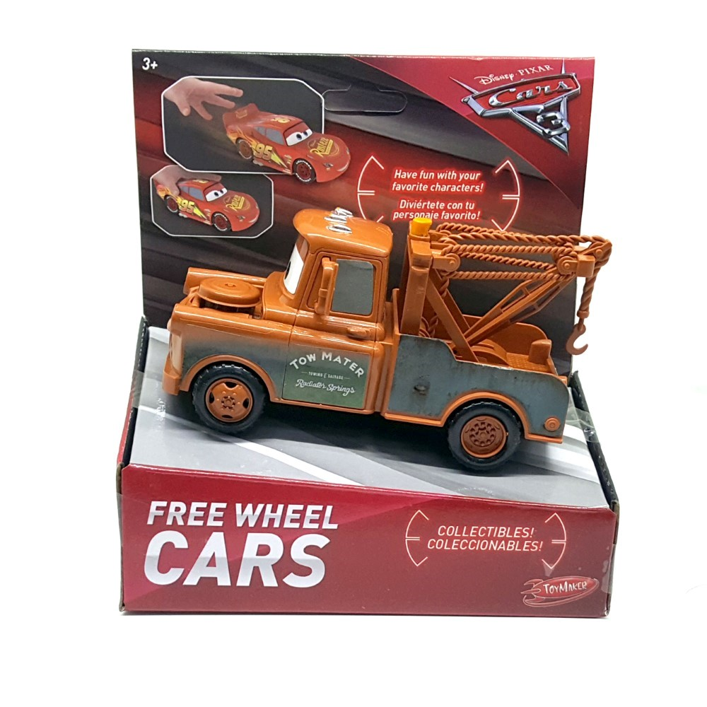 DR120700400000 Disney Cars 3 Free Wheel Cars Assortment
