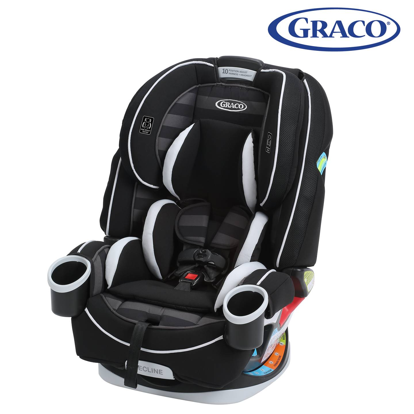 GR4308AH00RCW3 Graco 4Ever All-In-One Car Seat -Rockweave (1)
