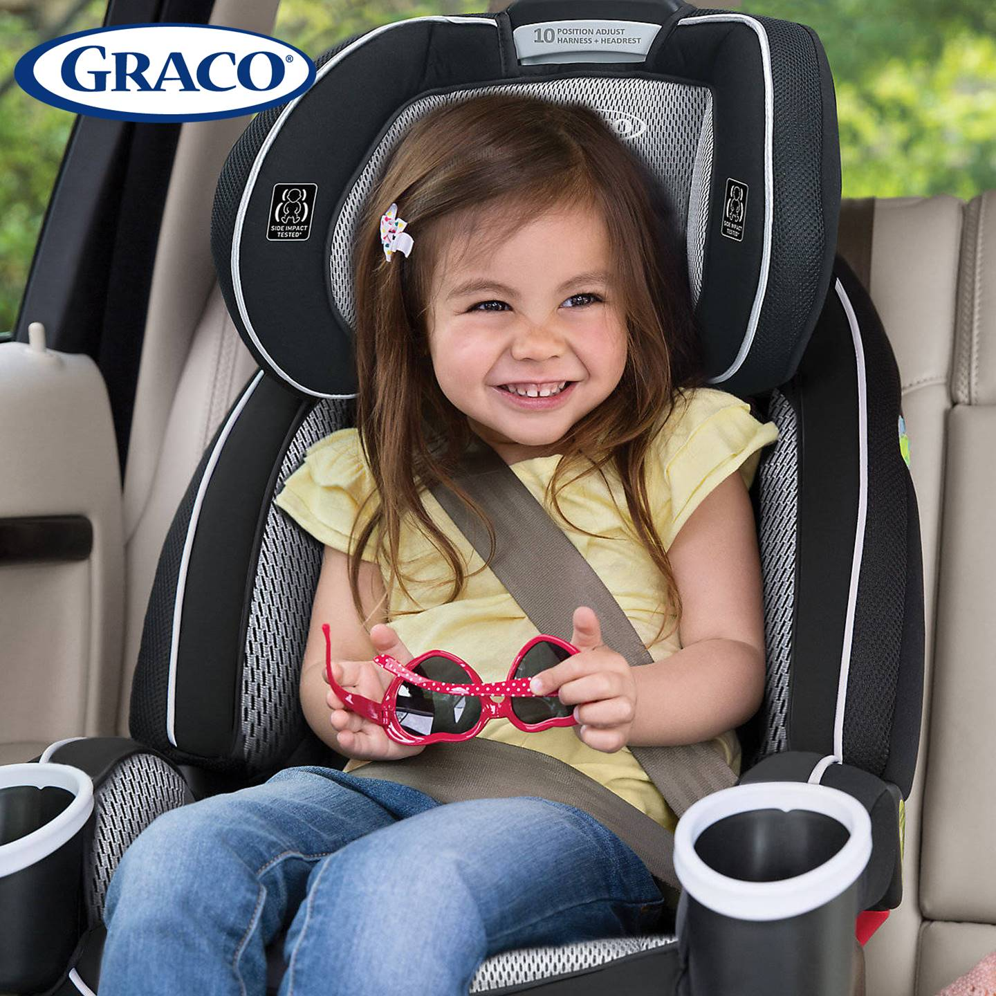 GR4308AH00RCW3 Graco 4Ever All-In-One Car Seat -Rockweave (13)