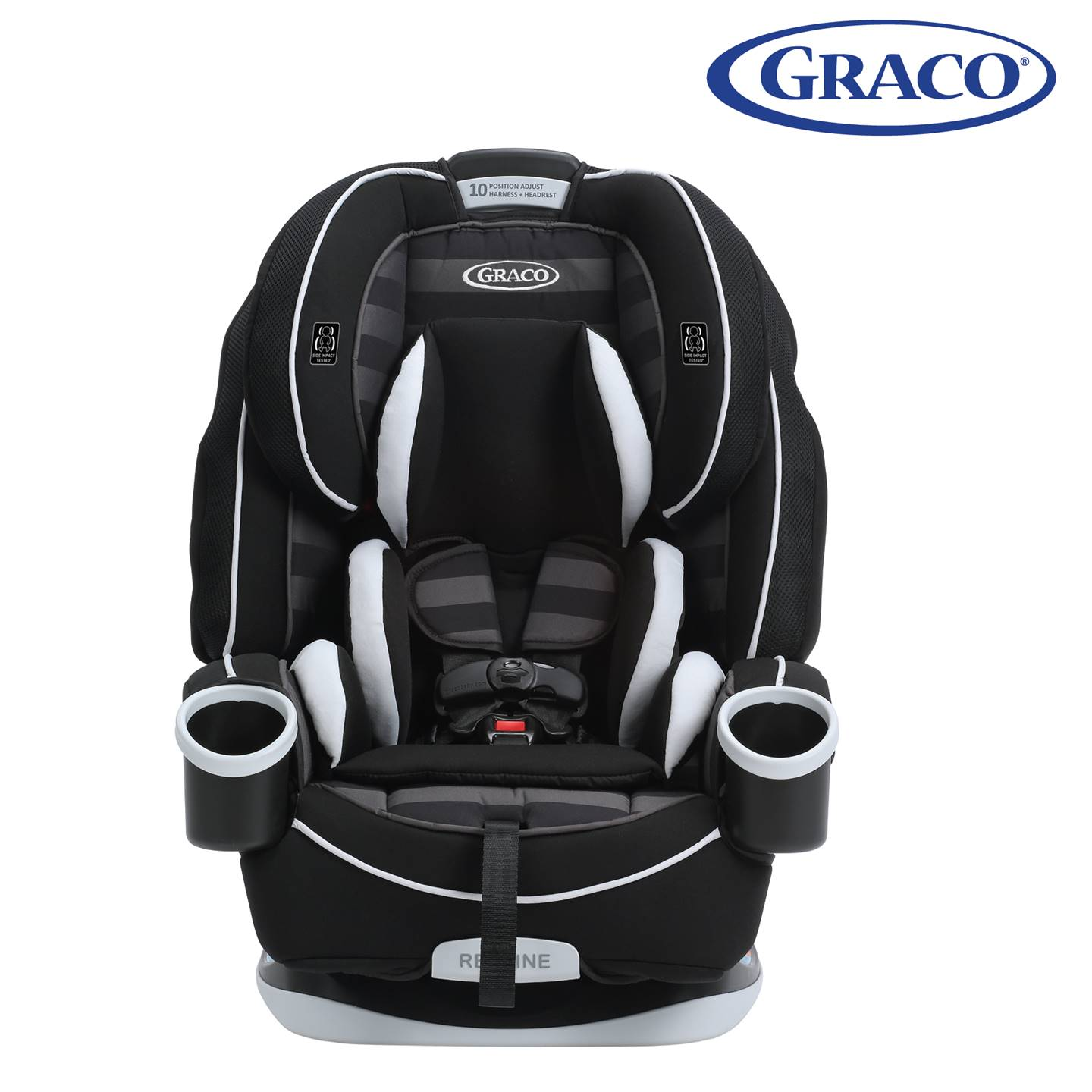 GR4308AH00RCW3 Graco 4Ever All-In-One Car Seat -Rockweave (8)