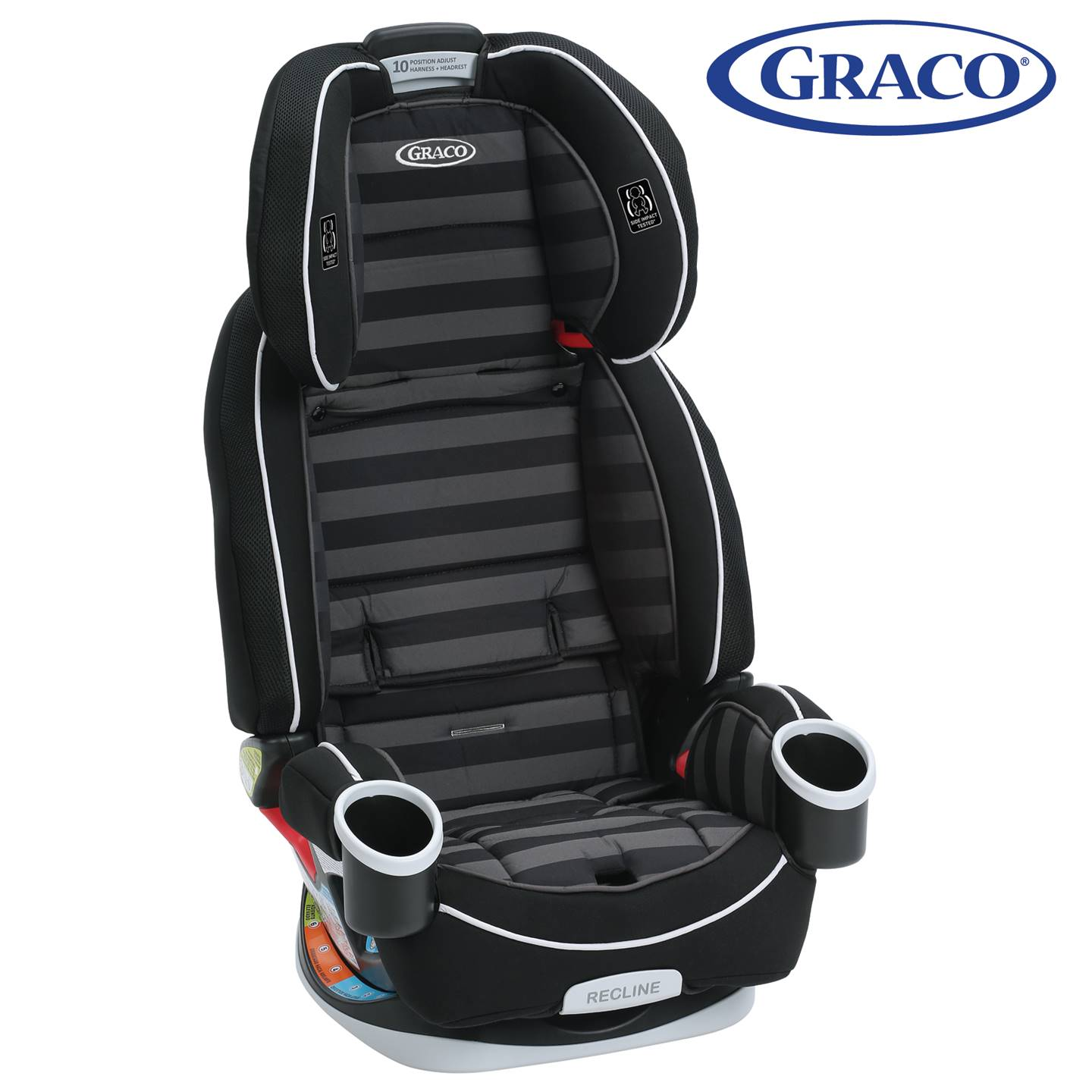 GR4308AH00RCW3 Graco 4Ever All-In-One Car Seat -Rockweave (9)