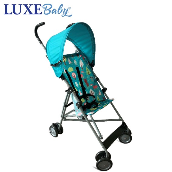 LX4201888MD000 Luxe Baby Groove Stroller-Midnight Animal
