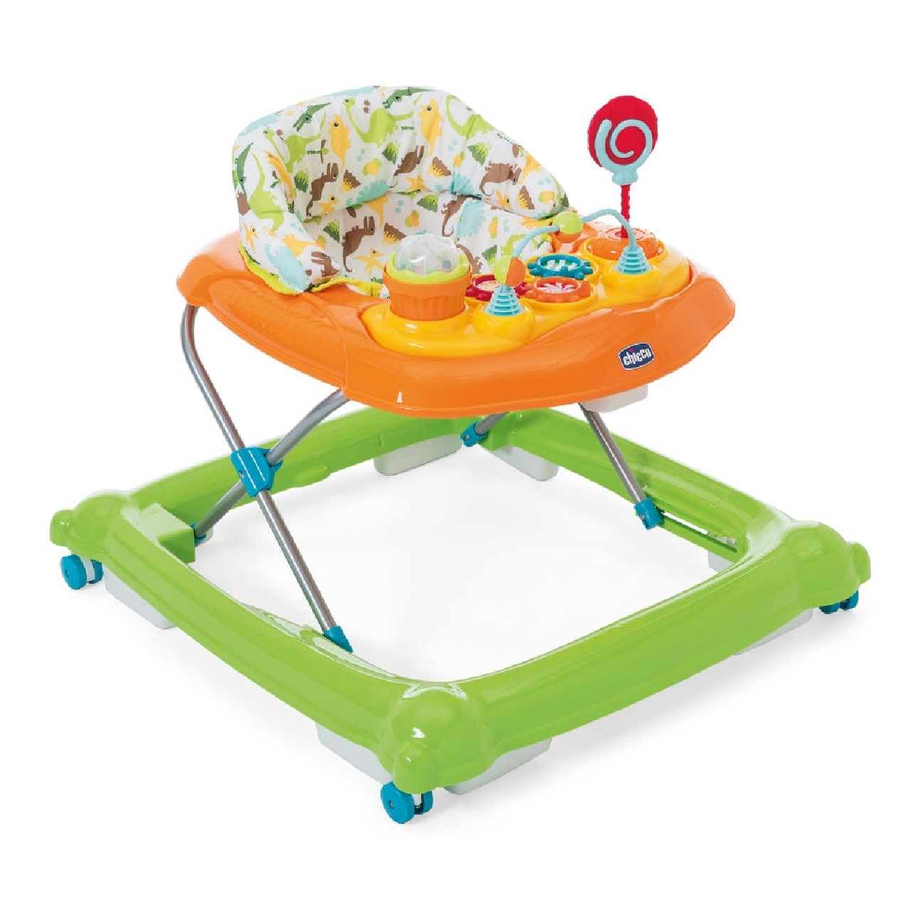 Lot 207_Chicco Baby Walker Circus-Green Wave-1