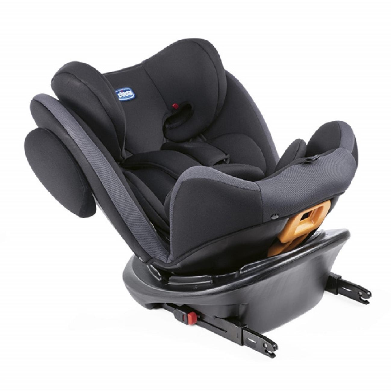 Lot 207_Chicco Unico Car Seat-Jet Black-2