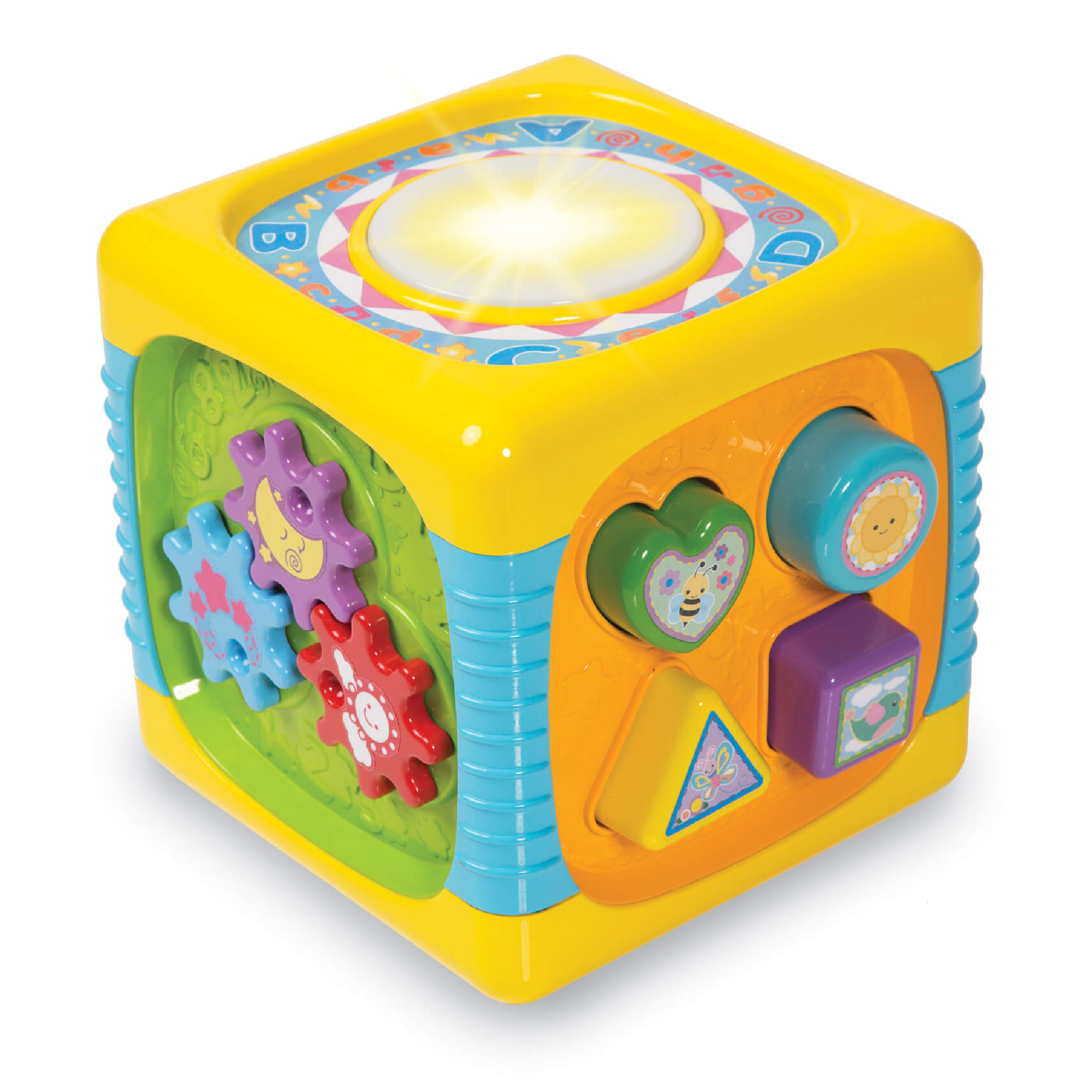 Lot 209-2_Winfun Music Fun Actvity Cube-1
