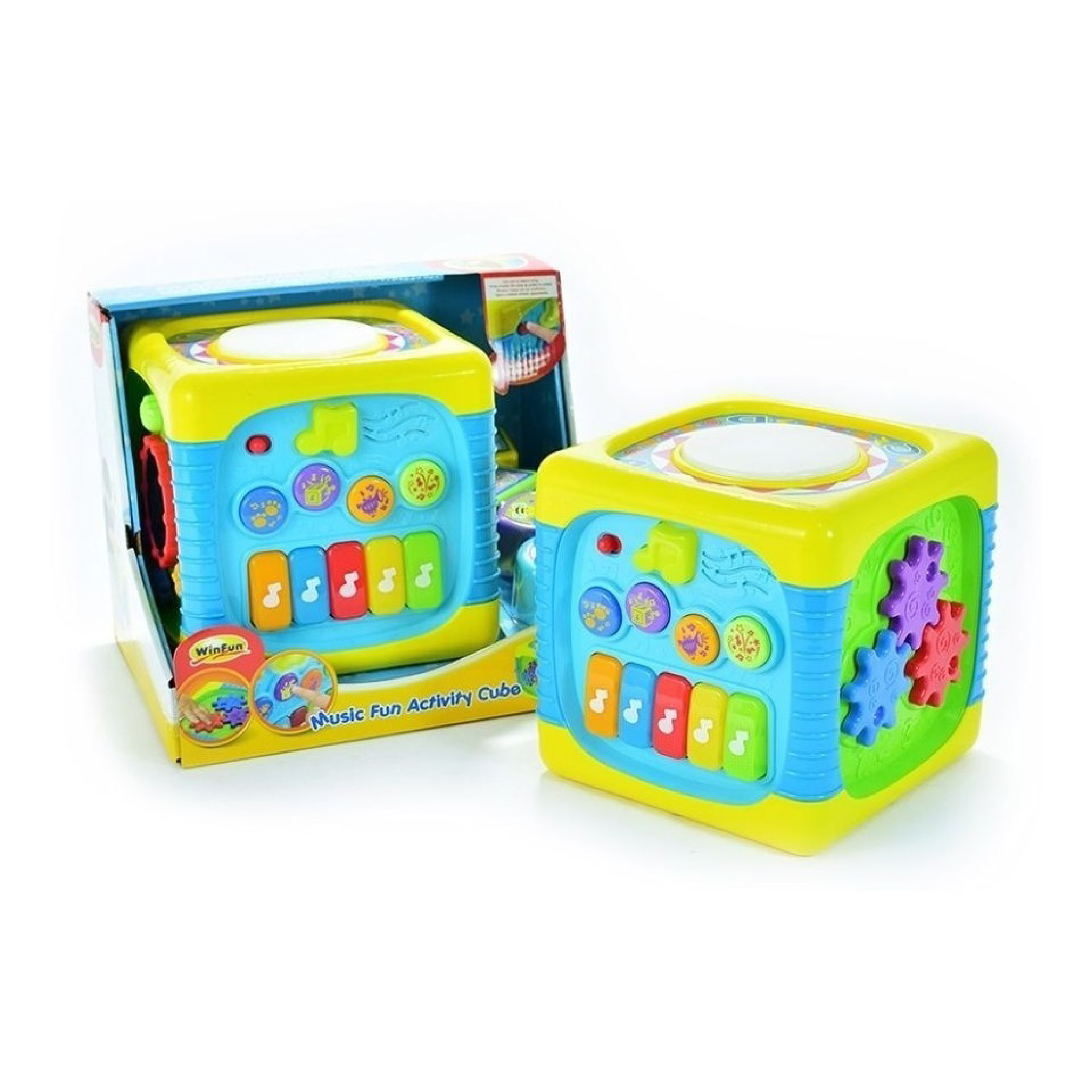 Lot 209-2_Winfun Music Fun Actvity Cube-5