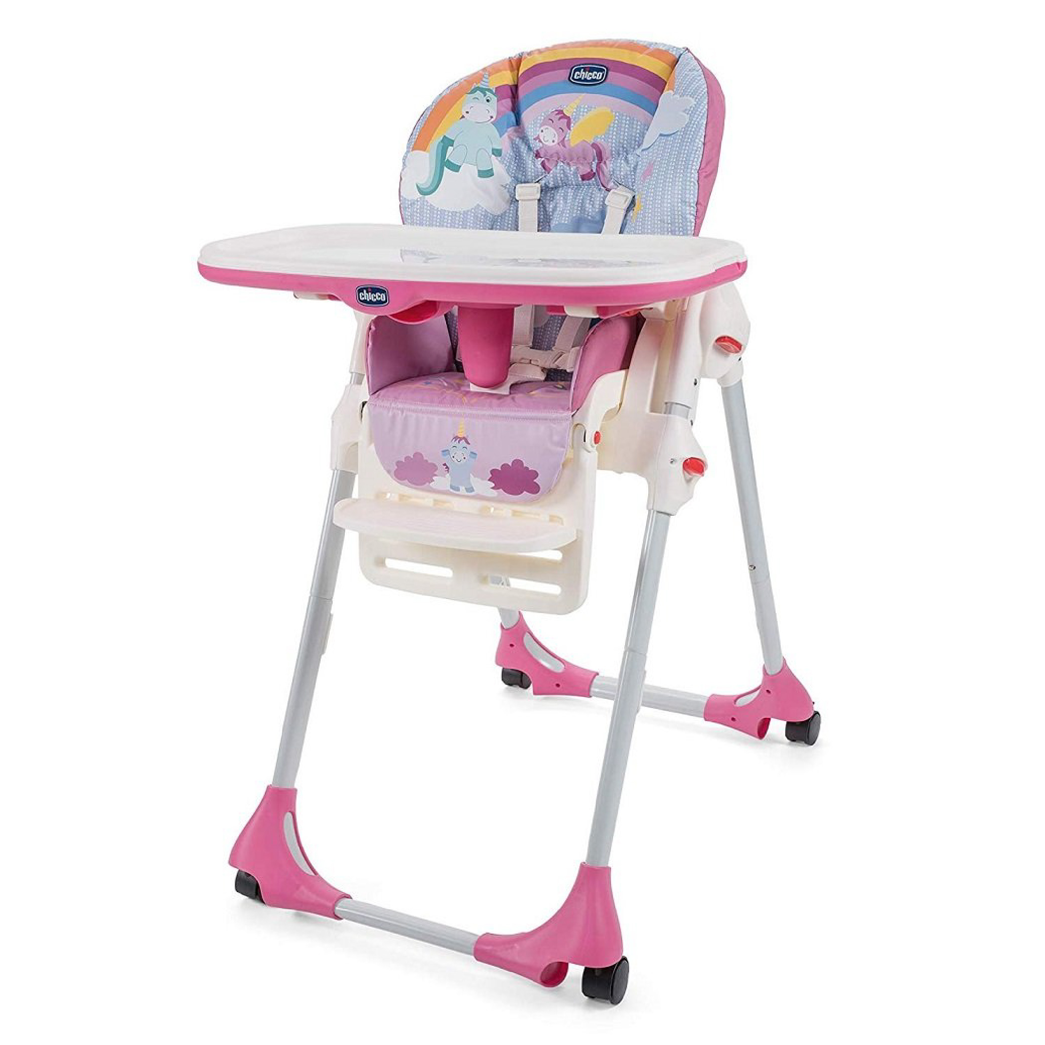 Lot 211_Chicco Polly Easy High Chair-Unicorn-1