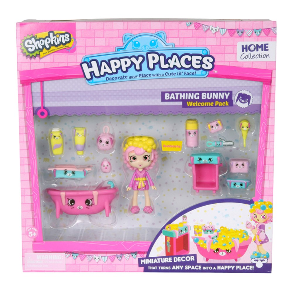 MO120563270000Happy Places S1 Bathing Bunny Welcome Pk