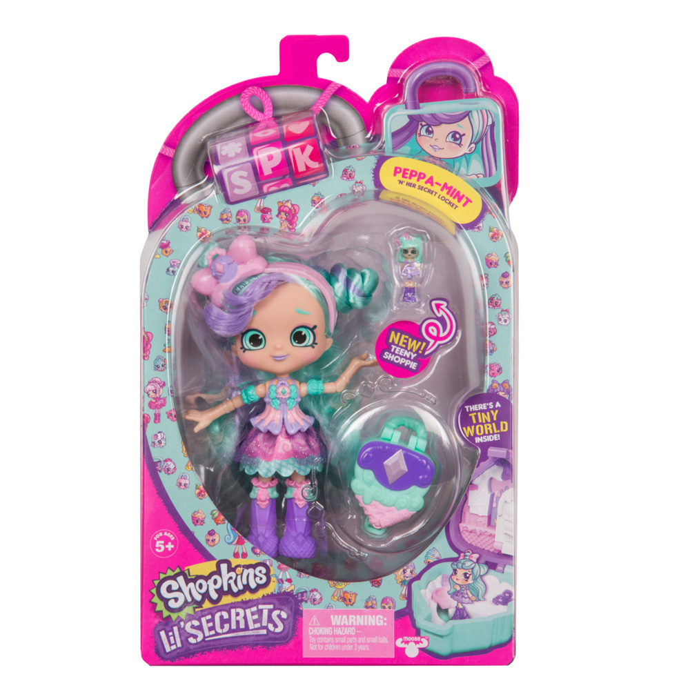 MO120569390000 Shopkins Lil Secrets S1 Shoppies Peppa