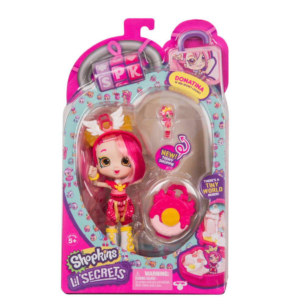 MO120569400000 Shopkins Lil Secrets S1 Shoppies Donatina