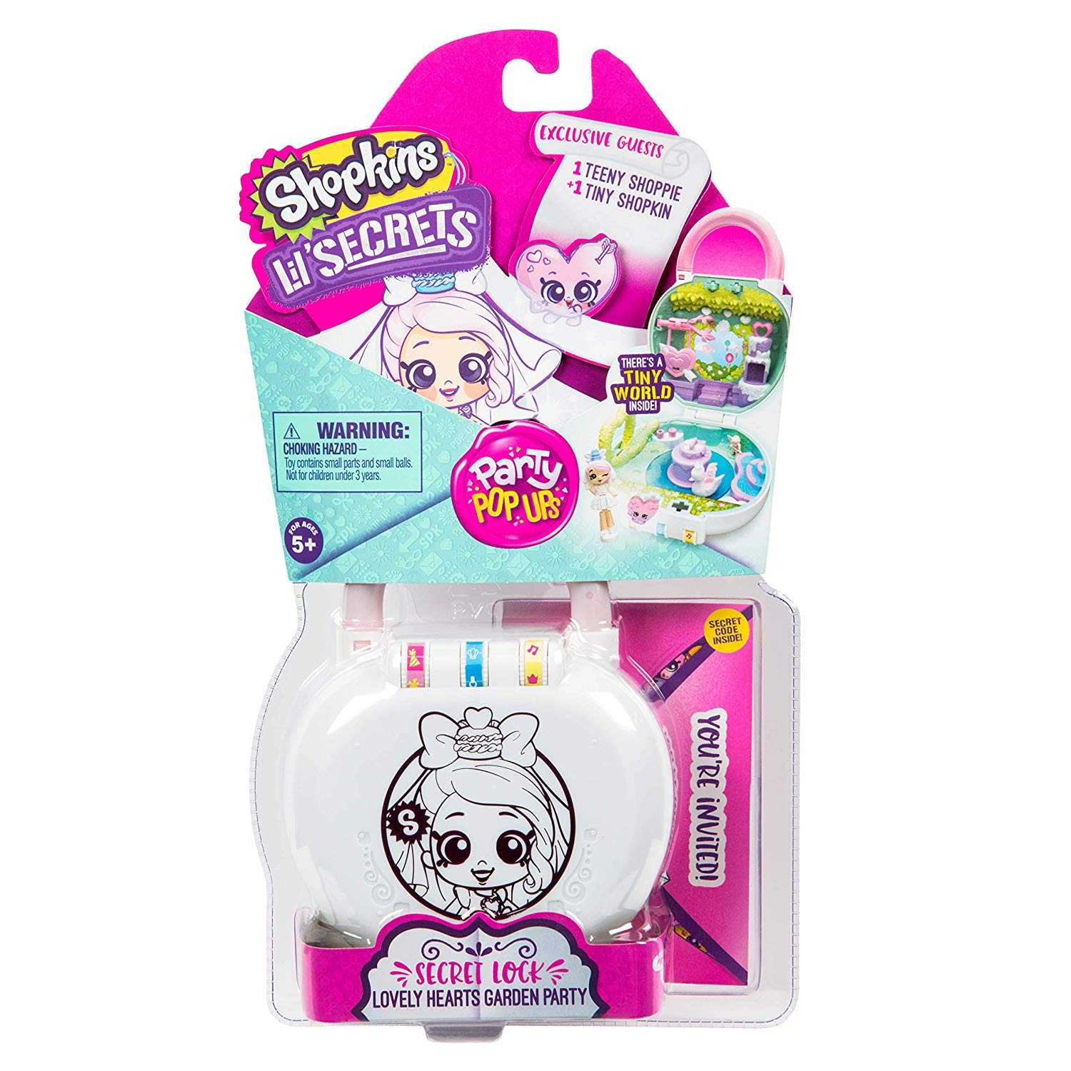 MO120572240000Shopkins Lil Secrets S2 Playset Lovely (1)