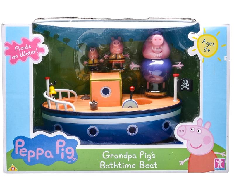 PP120506000000 PEPPA PIG GRANDPA PIG'S BATHTIME BOAT (1)