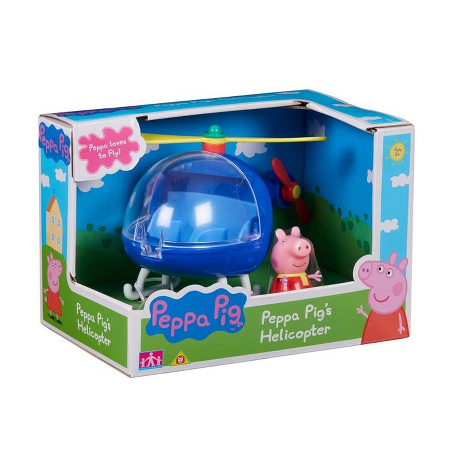 PP120638800000 Peppa Pig'S Vehicle Helicopter (1)