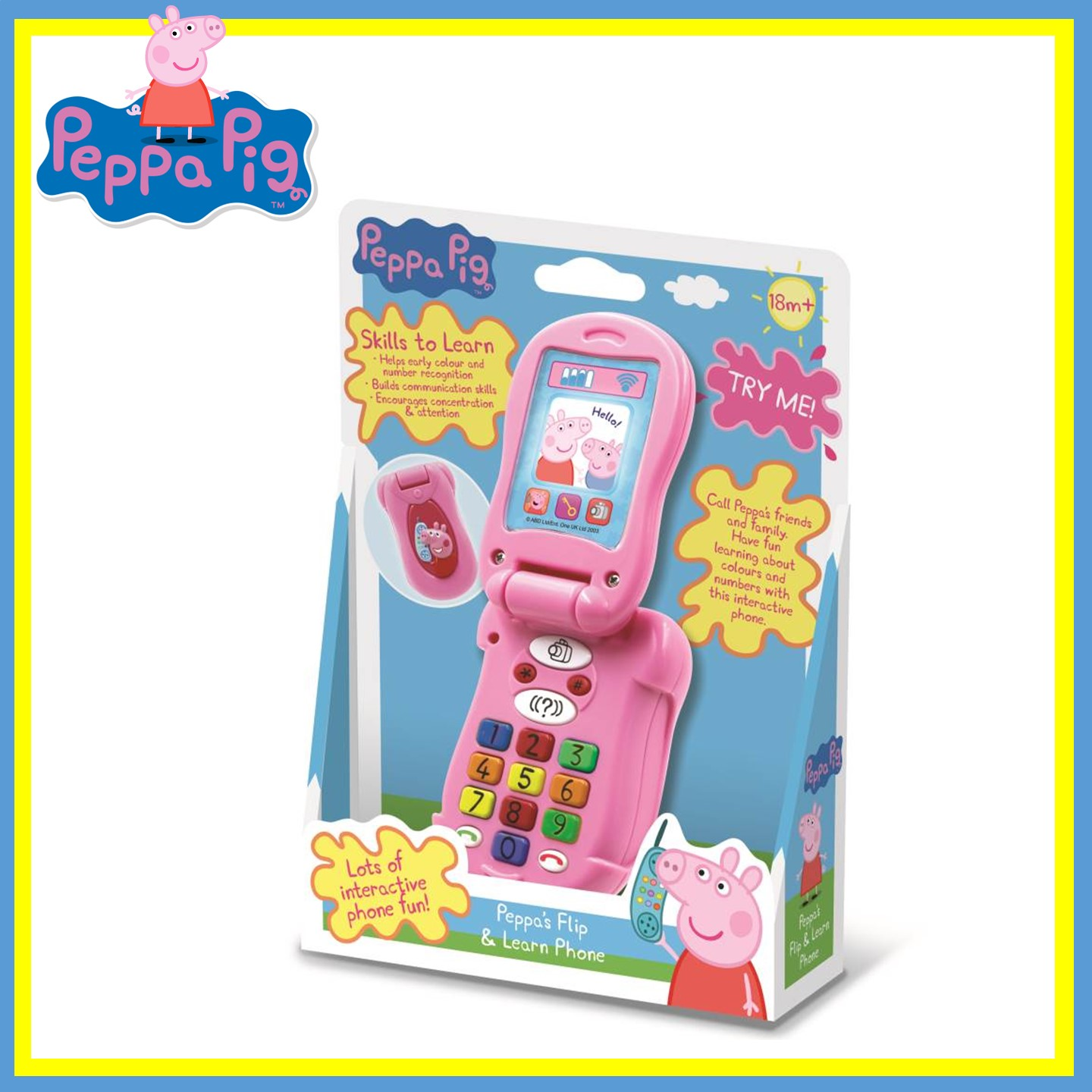 PU120PP0600000 Peppa Pig Flip And Learn Phone (1)