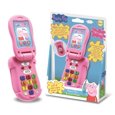 PU120PP0600000 Peppa Pig Flip And Learn Phone (3)1