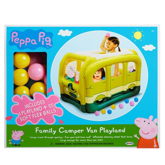 Peppa Pig Camper Van Playland W 50 Balls