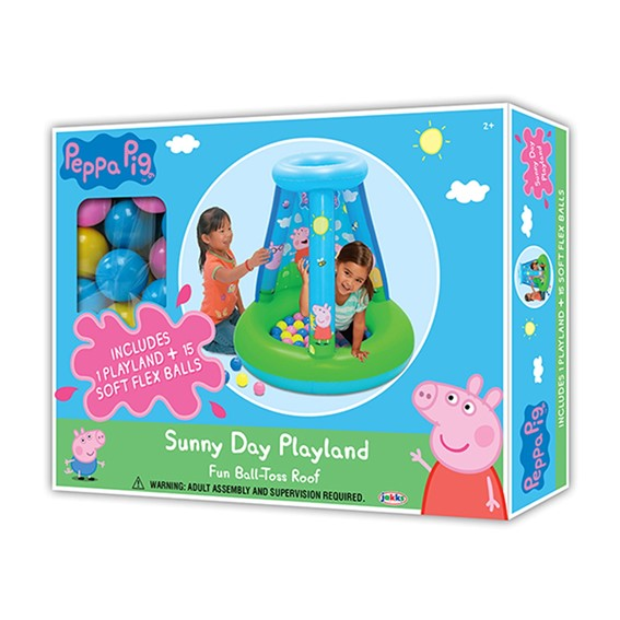 Peppa Pig Sunny Day Playland W 15 Balls (2)