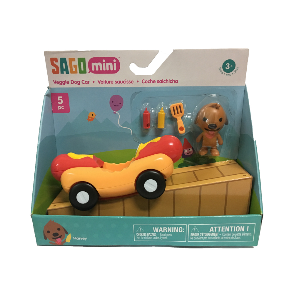 SG120537990000 Sago Mini Veggie Dog Car