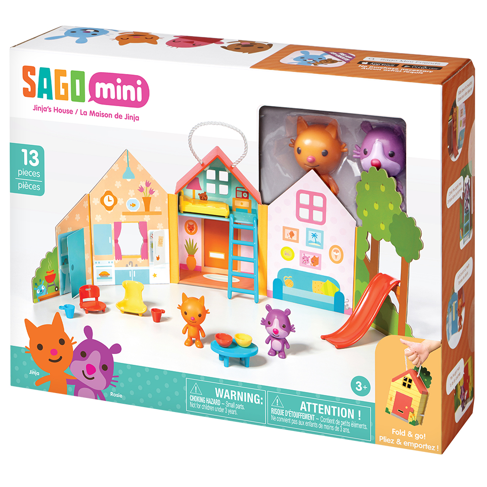 SG120702820000 Sago Mini Portable Playset Jinja'S House