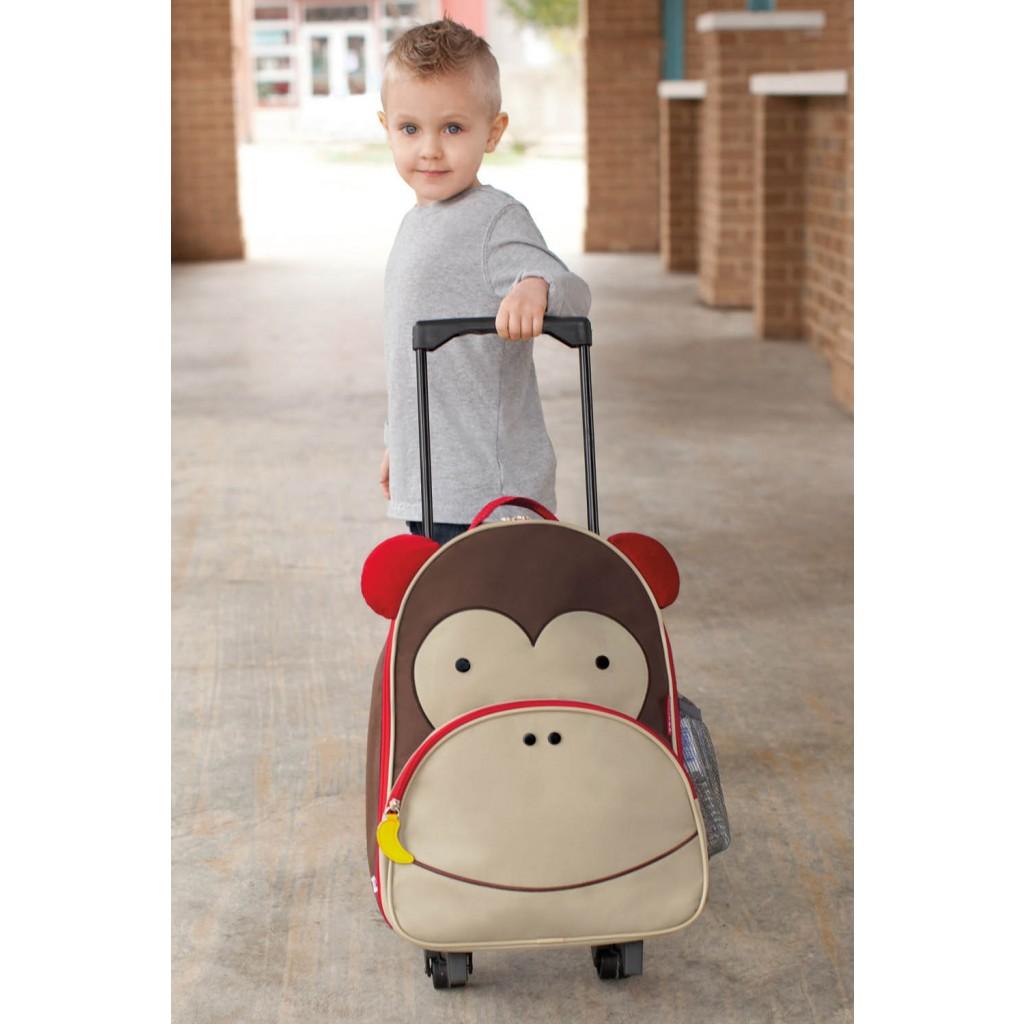 SH210212303000 Skip Hop Zoo Luggage Monkey(3)