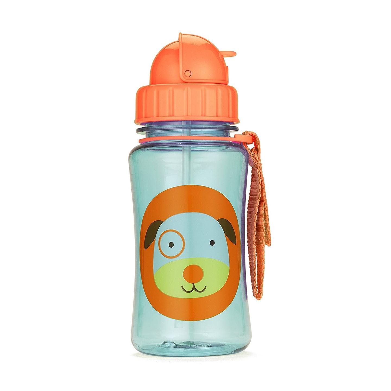 SH210252301000 Skip Hop Zoo Straw Bottle Dog Style