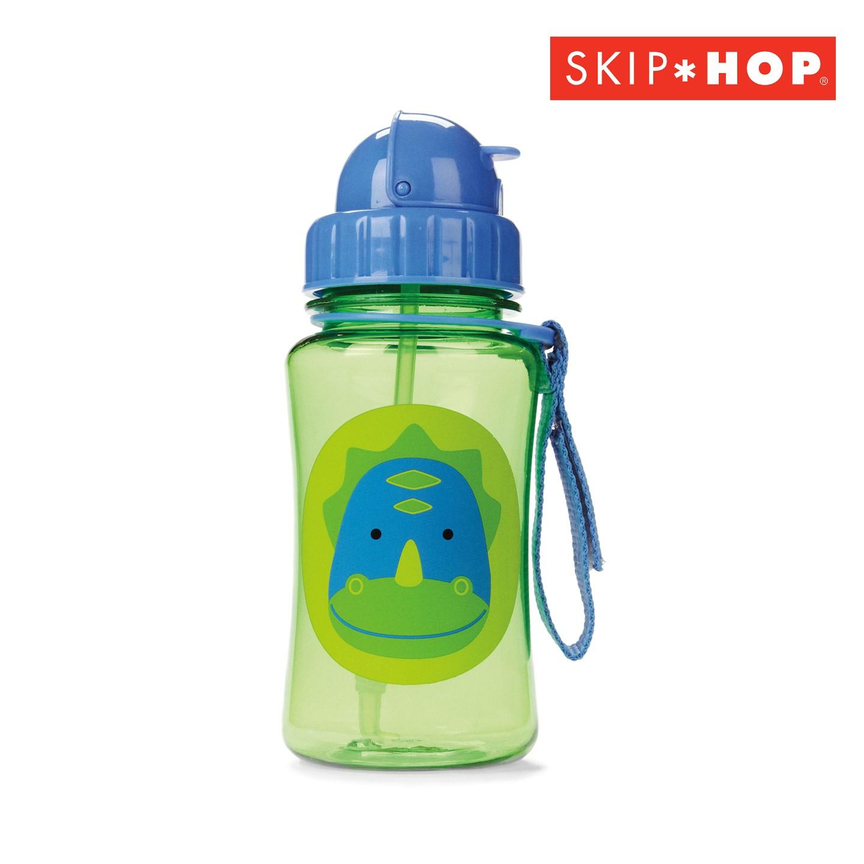 SH210252314000 Skip Hop Zoo Straw Bottle Dinosaur Style