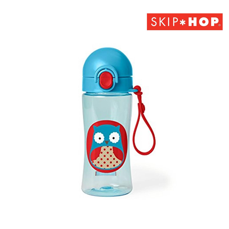SH210252625000 Skip Hop Zoo Lock Sports Bottle Owl(1)