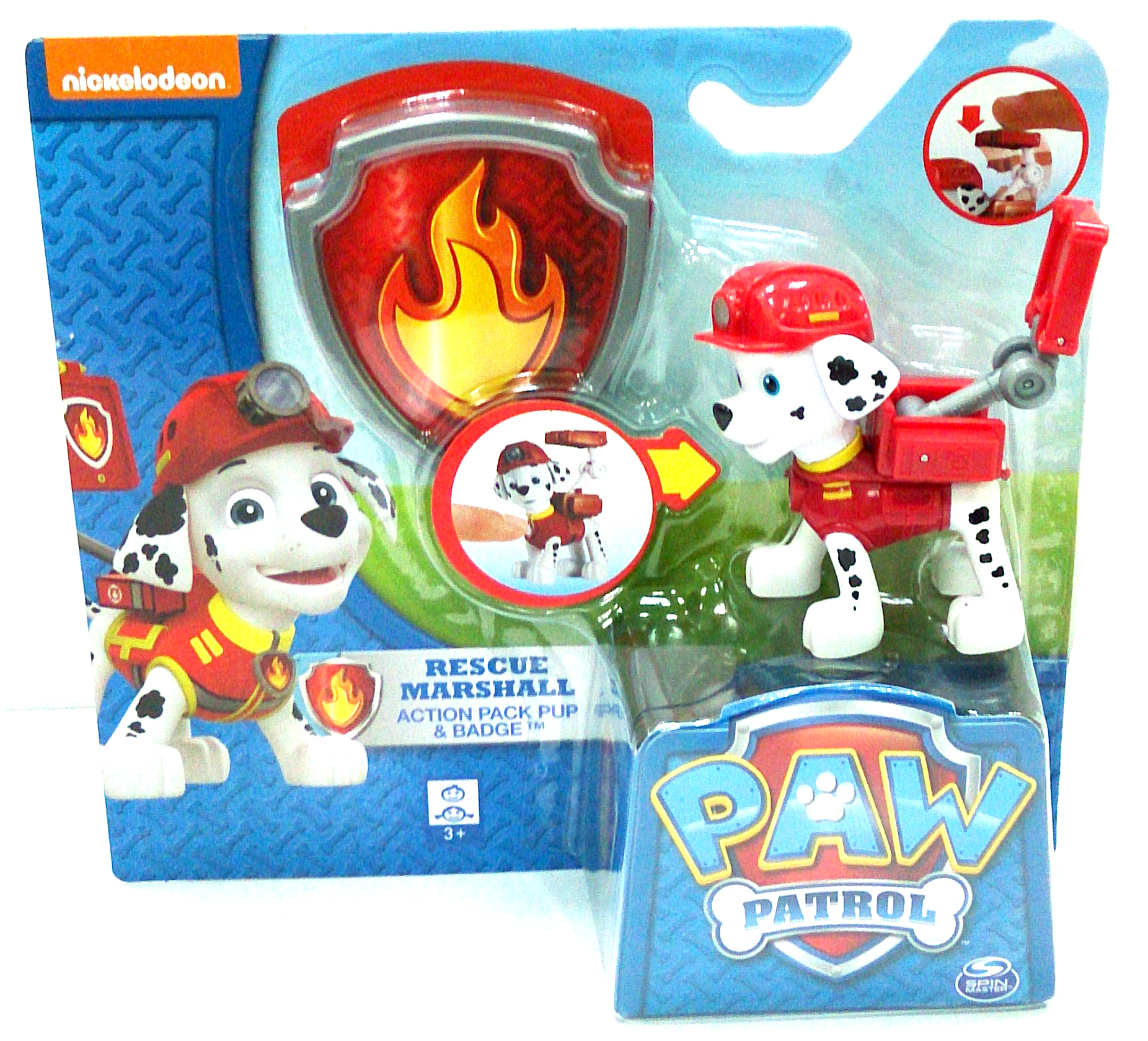 SM120166000000 PAW PATROL ACTION PACK PUP & BADGE ASST (2)